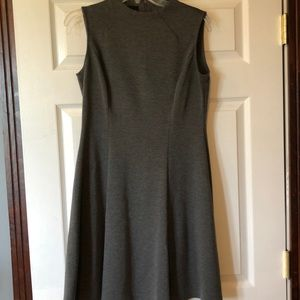 Plain gray dress.  Sz6